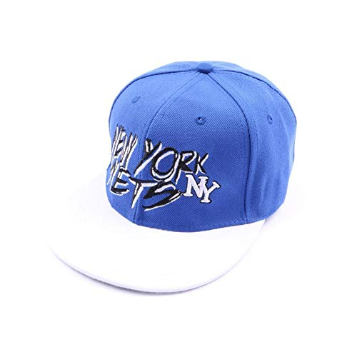 Casquette fitted NY Bleue et blanche - Mixte