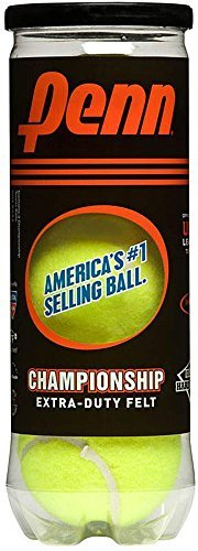 Penn Championship XD Tennis Balls (Single Can/3 Balls) by Penn -