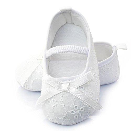 Ouneed® Prinzessin Anti Rutsch Schuhe weiße Freizeitschuhe Neugeborene 3 Krabbelschuhe Baby A Weiß Monate Baby Neue 12 8HxrHSwq0