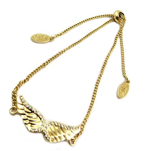 Les Trésors De Lily [P7058] - Kreatives armband 'Les Ailes D'ange' weißgold - 27x10 mm. (Kostüm Ailes D'ange)