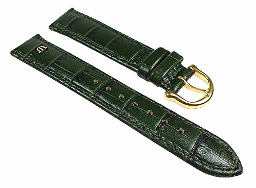 maurice-lacroix-replacement-watch-strap-calf-leather-croc-finish-pine-green-24495g-bridge-width-15mm