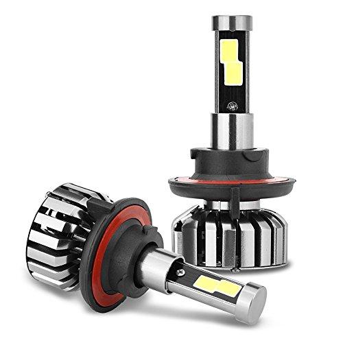 Preisvergleich Produktbild zantec N7LED H136000K Auto Scheinwerfer Cool weißen Lichtern Ersatz-Glühbirne für Wohnmobil SUV MPV Auto 1Paar