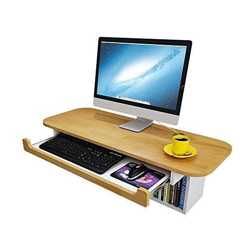 IRVING Computertisch PC Tisch Schreibtisch Computerschreibtisch Bürotisch Arbeitstisch Wand-Computertisch Schreibtisch, Home Office Schreibtisch Workstation