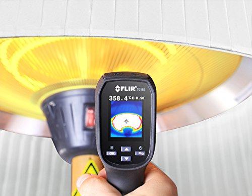 Primrose 2.100 Watt Firefly™ Infrarot-Heizstrahler (Halogen) Terrassenheizung, freistehend, 3 Leistungsstufen, Eichenoptik - 8
