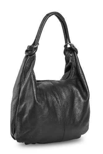 Bags4Less Damen Monaco Umhängetasche, 11x37x46 cm Schwarz