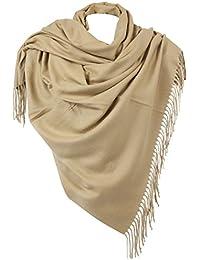 73df3d0c4593 RW Fashion, Écharpe de Femmes - Châles, Écharpe en Cachemire, Classique  Cachemire et