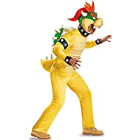Deluxe Adult Bowser Fancy dress costume X-Large