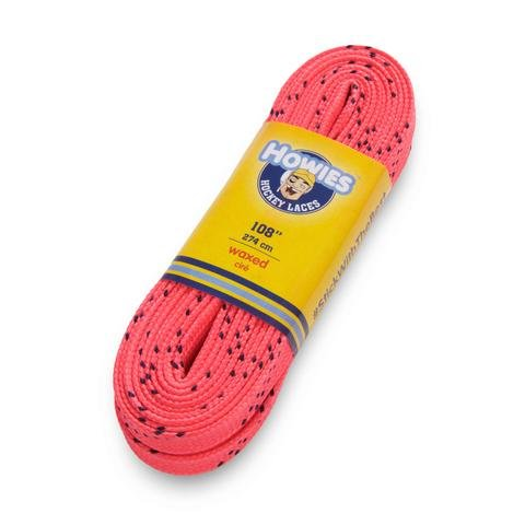 Howies Ice Hockey Waxed Skate Laces pink 120
