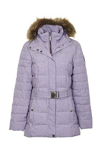 Giga DX killtec Casual giacca in piumino by aspetto con cintura e cappuccio Alayka lilla Viola lilla