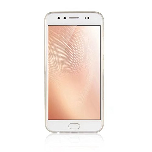 Soft Flexible TPU Back Cover Case Shockproof Schutzhülle mit Bling Glitter Sparkles und Kickstand für VIVO X9s ( Color : White ) Gold