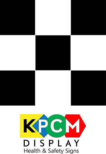 50 (25 Noir & 25 Blanc) Tile autocollants 100mm x 100mm Place Salle de bains / cuisine Autocollants Tuile de transfert bon marché et rentable