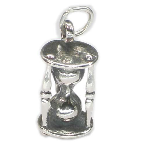 Horas temporizador cristal plata ley 925 pulsera