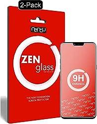 ZenGlass (2 Stück Flexible Glas-Folie kompatibel mit LG G8s ThinQ Panzerfolie I Display-Schutzfolie 9H I (Kleiner Als Das Gewölbte Display)
