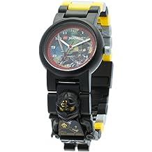 LEGO Ninjago 8020127 - Reloj Jungle Cole minifigure Link
