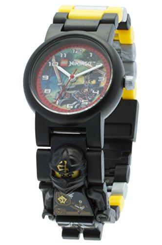 LEGO-Unisex-Armbanduhr-Ninjago-Jungle-Cole-Analog-Quarz-Plastik-8020127
