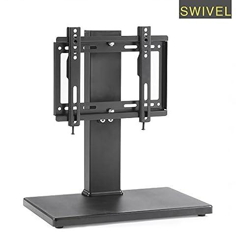 Swivel Universal TV Stand Hauteur Réglage 20
