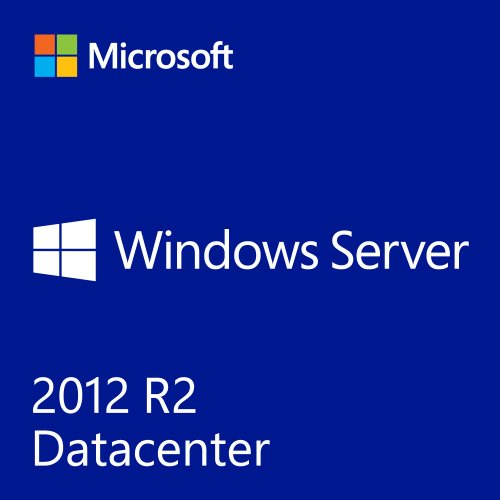 Microsoft Windows Server 2012 R2 Datacenter 64-bit - 2 Prozessoren (Dvd-speicherung)