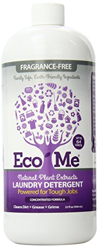 Eco-Me Liquid Laundry Detergent, Fragrance Free, 32 Ounce
