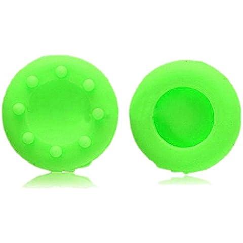 Dcolor Nuovo gioco Thumbstick Joystick Custodia Grip Cappuccio Per PS2 PS3 Xbox 360 Controller - Verde