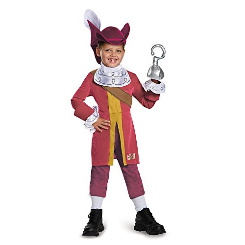 Disguise 85599M Captain Hook Deluxe Costume, Medium (3T-4T)