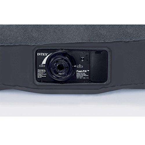 """Intex 12-66779 Luftbett Pillow Rest Classic """"Blue"""" 230 V Twin inklusiv integrierter elektrischer Luftpumpe, 99 x 191 x 23 cm - 6"""