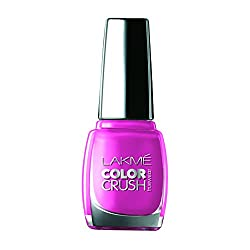 Lakme True Wear Color Crush Nail Color, Lavender 36, 9 ml