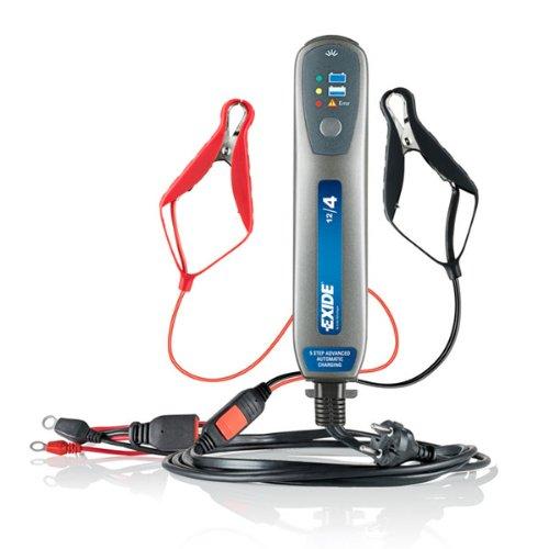 Chargeur de batterie 12/4 - Pour batteries de 1 à 85 Ah - EXIDE