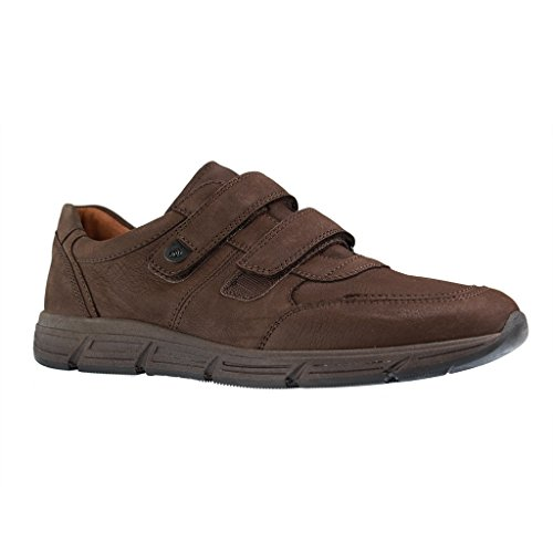 WALDLÄUFER 323301/182031 hommes Mocassins, Marron