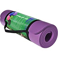 Skyland Yoga Mat-EM-9315-P, Purple - 10mm Thick