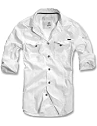BRANDIT Men Slim Shirt Herren Hemd B-4005