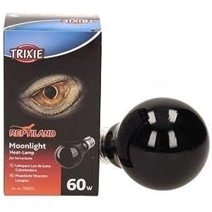 Trixie 76023 Mondlicht Wärmelampe, 60 W, ø 60 × 100 mm