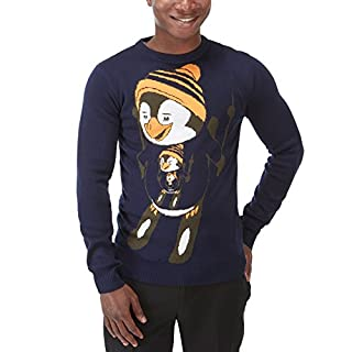 Charles Wilson Novelty Christmas Jumper (Penguin, XX-Large)