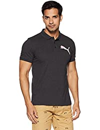 Puma Men's Solid Regular Fit Cotton Polo