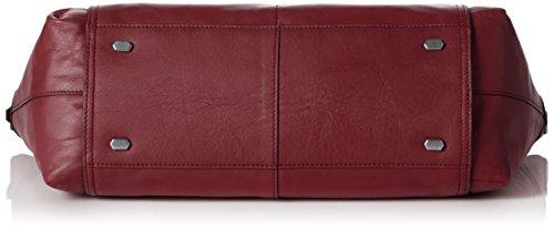 Liebeskind Berlin - Fuji Nappa, Borsa con Maniglia Donna Rosso (Rot (ruby 3992))