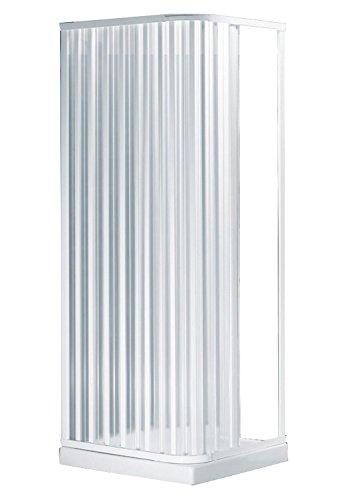 Negrari Duschkabinenwand, mit 2 beweglichen Türen