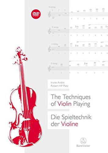 Hp-mixer (The Techniques of Violin Playing / Die Spieltechnik der Violine.Buch, DVD)