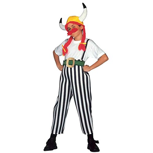 Obelix Kostüm Gallier Kinderkostüm Obelixkostüm Fasching Gallierkostüm Faschingskostüm Asterix Comic Helden Römer Karnevalskostüm Dicker Wikinger Antike Mottoparty Verkleidung Karneval Kostüme ()