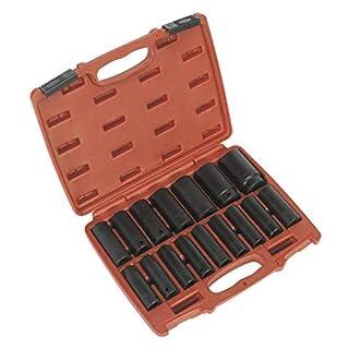 Sealey AK5816M Impact Socket Set 16pc 1/2