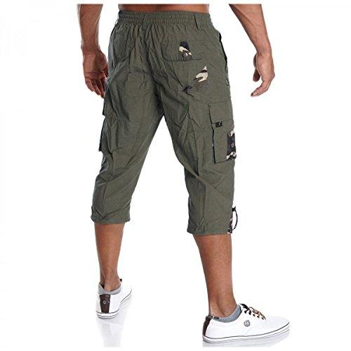 BEZLIT -  Pantaloncini  - cargo - A quadri - Uomo cachi