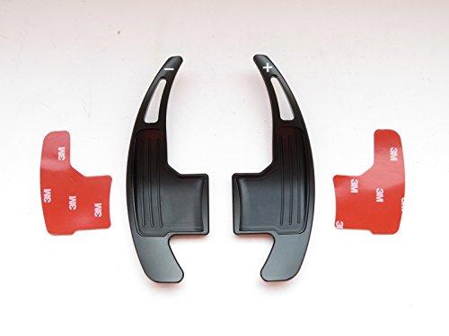 Pinalloy volant en métal Noir Paddle Shifter extension pour Mustang 2015-17