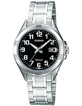 Casio Collection – Damen-Armbanduhr mit Analog-Display und Edelstahlarmband – LTP-1308PD-1BVEF