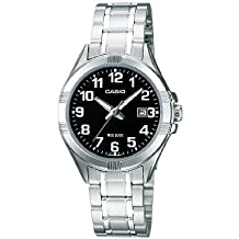 Casio Collection – Reloj Mujer Analógico con Correa de Acero Inoxidable – LTP-1308PD-1BVEF