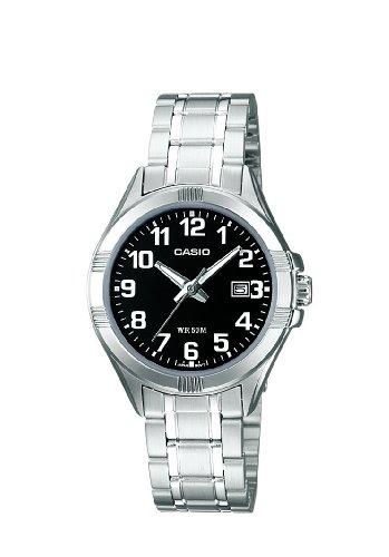 CASIO LTP1308D1BVEF – Reloj de mujer de cuarzo, correa de acero inoxidable color plata