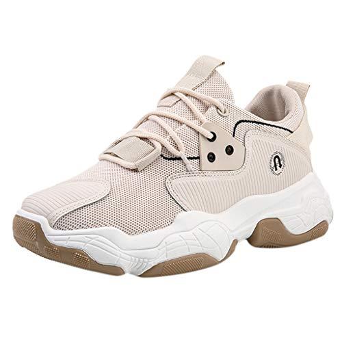 KERULA Sneakers, New Flying Weaving Le Running Shoes Tourist Leisure Sports All Star Comfy Mesh-Comfortable Breathable Work Low Top Walking Sneakers füR Damen & Herren