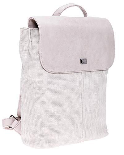 BERNARDO BOSSI Hochwertiger Damenrucksack Rucksack Damen Daypack Frauen Tagesrucksack Tasche Verschiedene Modelle (M1 stone)