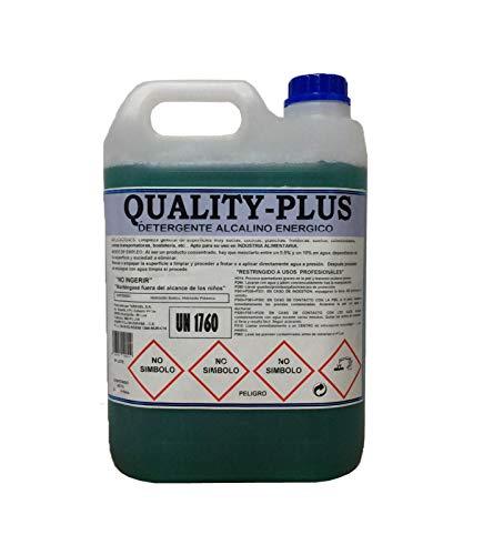 """CE Quality-PLUS1 - DESENGRASANTE SÚPER-Concentrado Energético.""""Especial para COCINAS Y Suelos Muy sucios """" Aroma MENTOLADO (5Kgrs)"""