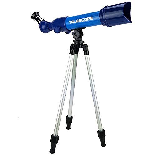 Quskto Juguetes educativos Telescopio Escritorio refractómetro