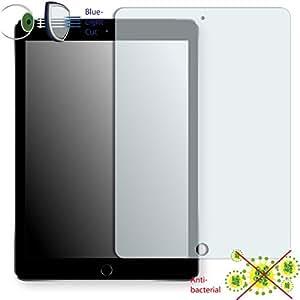 DISAGU ClearScreen Film de protection d´écran pour Apple iPad Air 2 antibactérien, filtre lumière bleue, film de protection