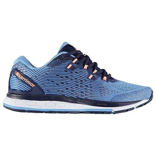 Offizielles Schuhe Schnelle Unterstützung Karrimor Running Shoes Damen Navy/Coral Joggen Turnschuhe Sneakers, Navy/Coral, (UK8) (EU42) (US9)