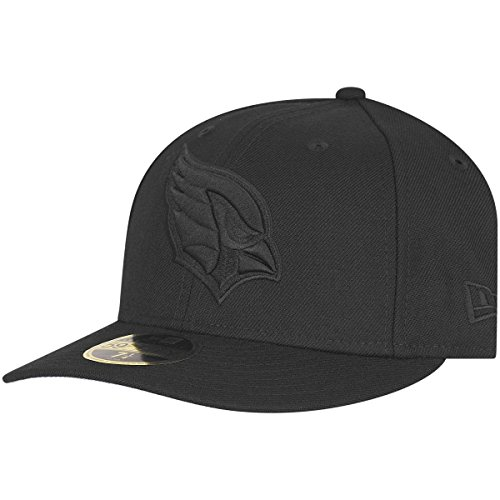 New Era 59Fifty LOW PROFILE Cap - Arizona Cardinals - 7 1/2 (Profile Low Cap 3d)